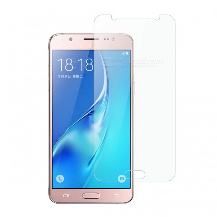 Dayspirit Tempered Glass Screen Protector for Samsung Galaxy J5(2016)Screen Protectors<br>Form  ColorTransparentScreen TypeGlossyModelN/AMaterialTempered glassQuantity1 DX.PCM.Model.AttributeModel.UnitCompatible ModelsSamsung Galaxy J5(2016)Features2.5D,Tempered glassPacking List1 x Tempered glass screen protector1 x Dust cleaning film 1 x Alcohol prep pad<br>
