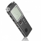 Portable 8GB LCD Digital Audio Voice Recorder Dictaphone - Black