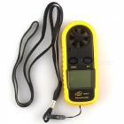 "BENETECH GM816 1.5"" LCD Portable Digital Wind Speed Meter Anemometer"