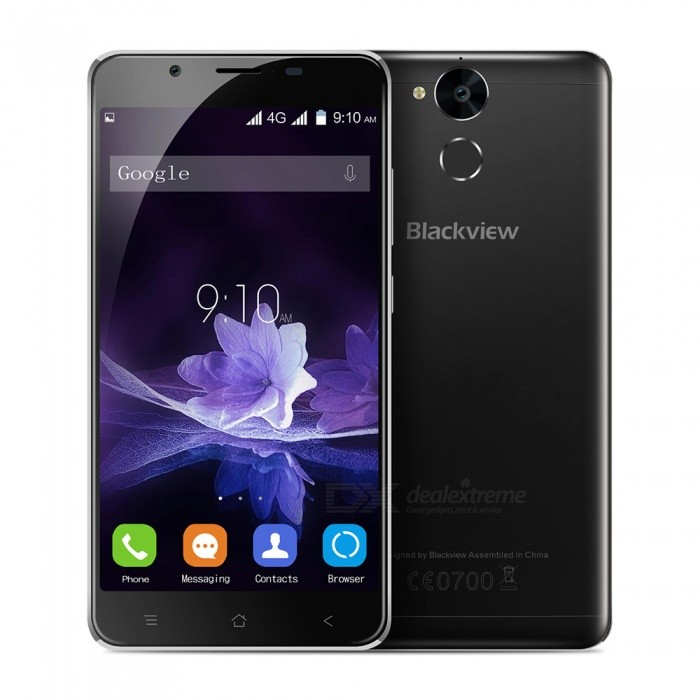 Blackview P2 Android 6.0 Smartphone with 4GB RAM 64GB ROM - Black