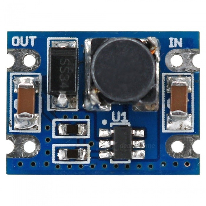 SMD 3-12V to 12V 0.5A Step-up Boost Converter Power Supply ModuleOther Accessories<br>Form  ColorBlue + BlackModelN/AQuantity1 DX.PCM.Model.AttributeModel.UnitMaterialPCB + Alloy + PlasticEnglish Manual / SpecYesDownload Link   https://drive.google.com/drive/folders/0B6uNNXJ2z4CxTzVjV3p3VnI2eTQ?usp=sharingPacking List1 x Module<br>