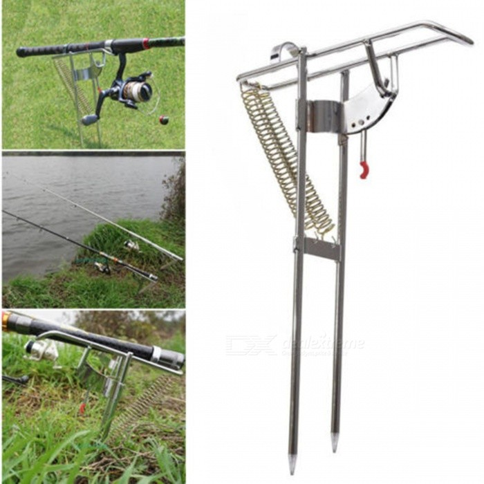 Double-Spring-Fishing-Stand-Bracket-Rod-Pole