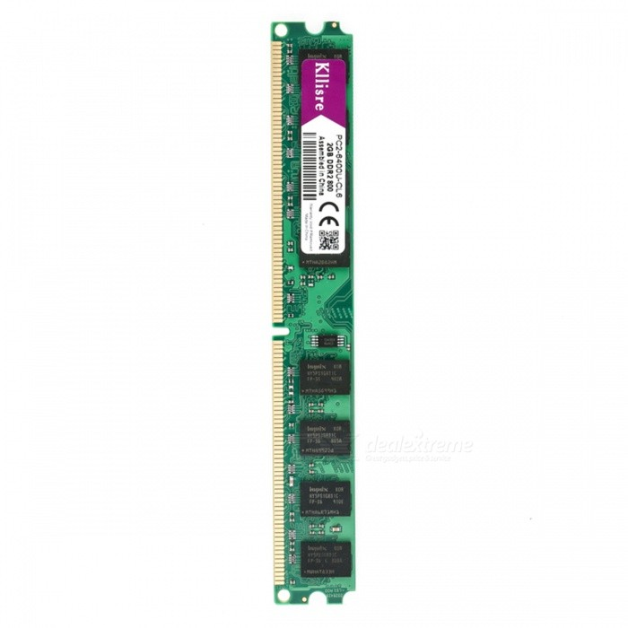 DDR2 2GB 800MHz Memory Desktop RAM for Intel for sale in Bitcoin, Litecoin, Ethereum, Bitcoin Cash with the best price and Free Shipping on Gipsybee.com