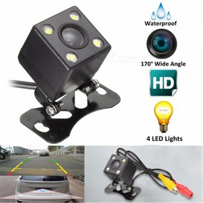 4-LED HD CCD Hanging Type Waterproof Car Rear View CameraRearview Mirrors and Cameras<br>Form  ColorBlackTypeRearview MirrorsModelNX-1HDQuantity1 DX.PCM.Model.AttributeModel.UnitMaterialMetalCompatible MakeOthers,GeneralCompatible Car ModelGeneralStyleExternalWater-proofIP66Power Supply12.24VPacking List1 x Car Rear View Camera1 x Power Cable1 x Video Cable(600cm)1 x English Manual<br>