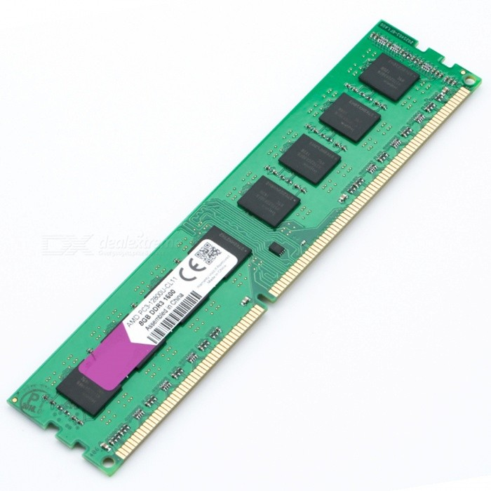 Buy DDR3 8GB 1600MHz Desktop RAM Memory 240Pin 1.5V for AMD with Litecoins with Free Shipping on Gipsybee.com