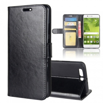 Protective PU Leather Case for HUAWEI  P10 plus - Black