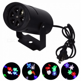 YouOKLight 4W 4-Pattern RGBW LED Stage Effect Light Projector -US/EU  Plug