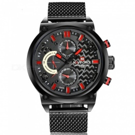 NAVIFORCE-9068S-Men-Sports-Army-Metal-Wrist-Quartz-Watch