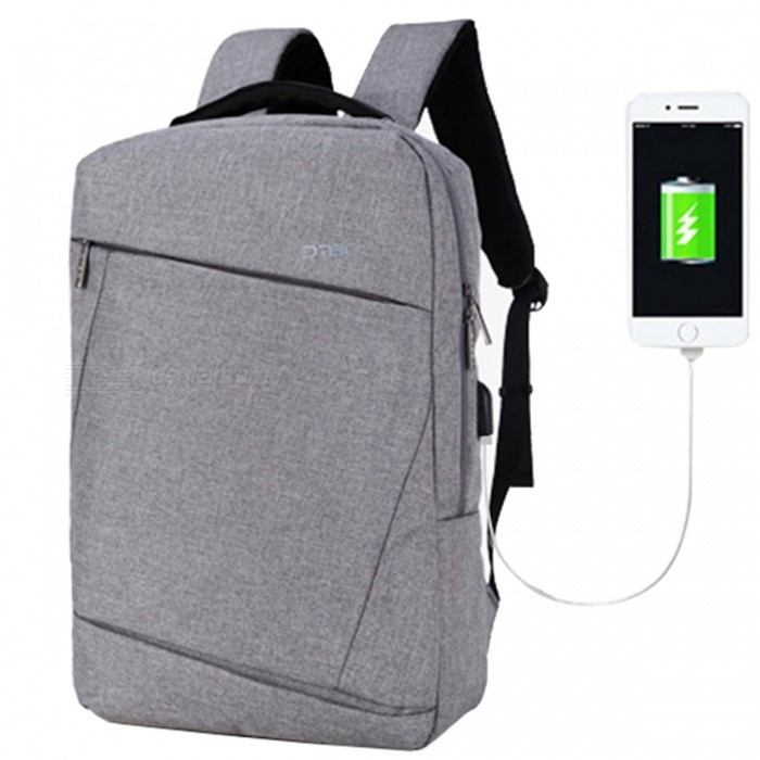 DTBG-D8057W-156-Inch-Laptop-Storage-Backpack-with-USB-20-Port-Grey