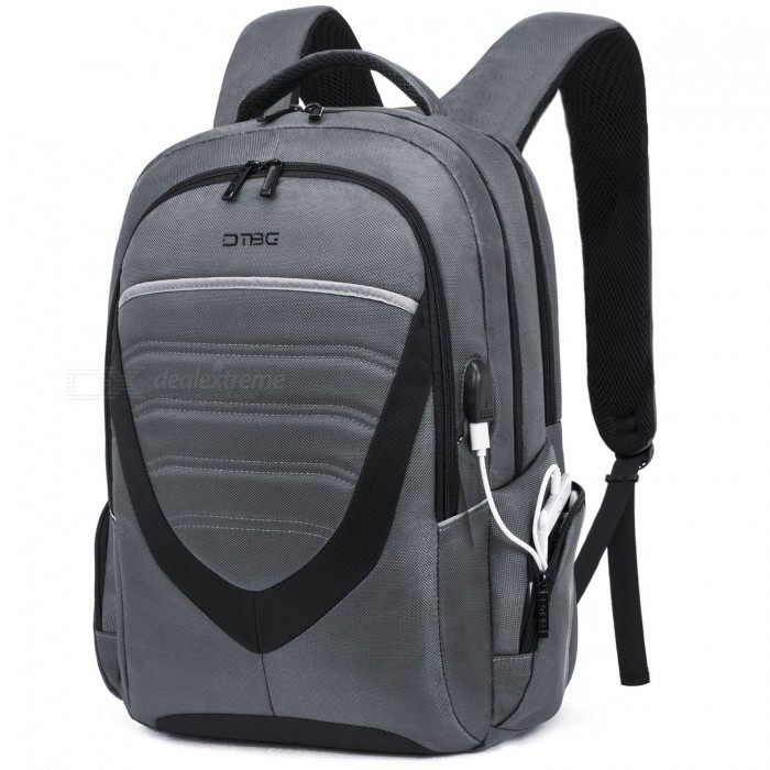 "DTBG 15.6/""//17.3/'/' Laptop Backpack Nylon Business Shoulders Bag With USB Port"
