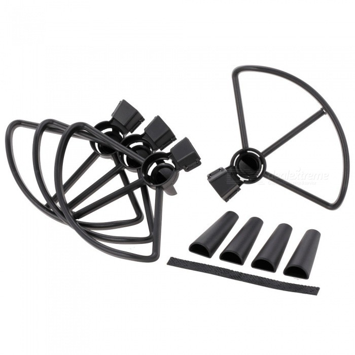 Buy Propeller Protector and Extended Landing Gear for DJI Spark RC Drone with Litecoins with Free Shipping on Gipsybee.com
