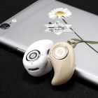 Eastor S550 Mini Bluetooth Wireless In-Ear Kopfhörer mit Mic-Weiß