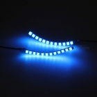 YouOKLight moda luminosa flash LED pestañas falsas - luz azul
