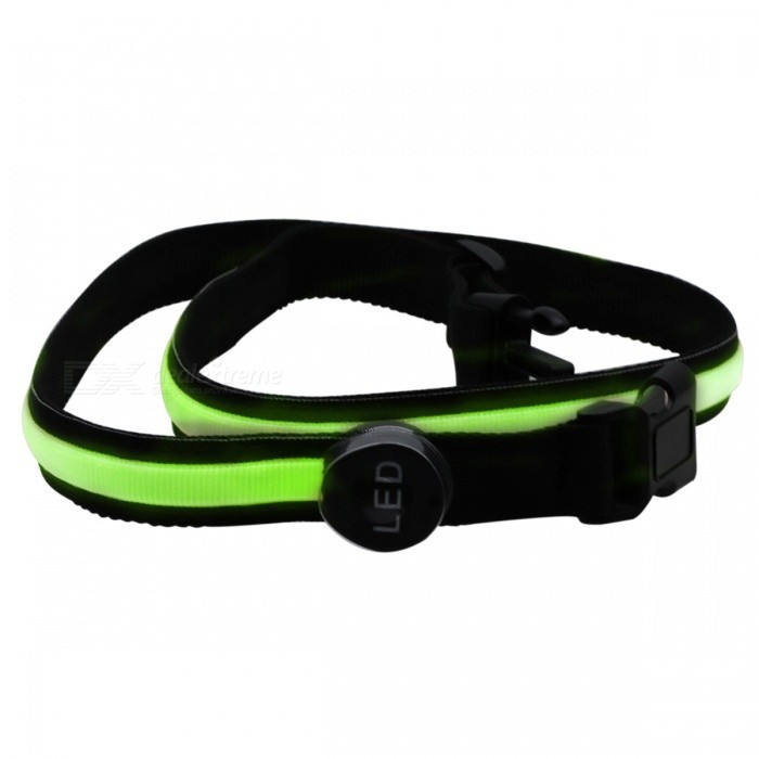 YWXLight USB LED Runing Warning Luminous Safety Waistband - GreenLED Nightlights<br>Form  ColorGreenMaterialNylonQuantity1 DX.PCM.Model.AttributeModel.UnitPower3WRated VoltageOthers,DC 5 DX.PCM.Model.AttributeModel.UnitConnector TypeOthers,USBColor BINGreenEmitter TypeLEDTotal Emitters1Theoretical Lumens300-400 DX.PCM.Model.AttributeModel.UnitActual Lumens200-300 DX.PCM.Model.AttributeModel.UnitColor Temperature12000K,OthersDimmableYesBeam Angle180 DX.PCM.Model.AttributeModel.UnitInstallation TypeOthersPacking List1 x YWXLight LED Luminous Waistband1 x USB cable<br>