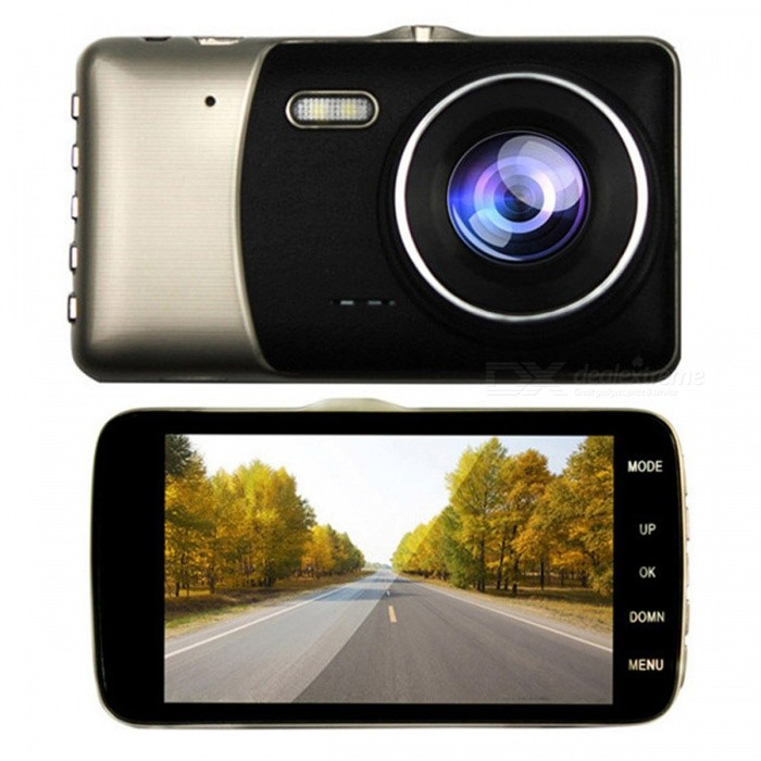 "503S 3.0 ""LCD 12.0MP 1080P HD Auto DVR mit 1024MB Gedächtnis - Gold + Schwarzes"