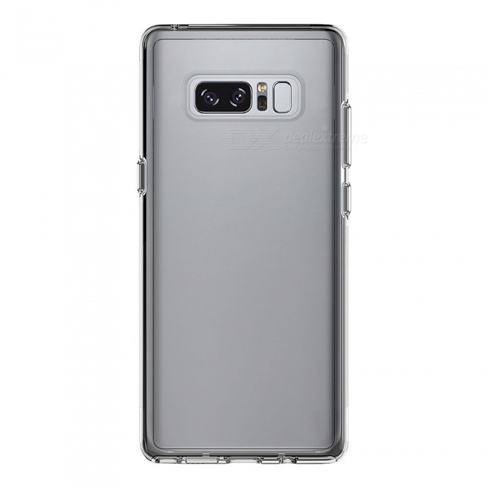 Adeline Ultrathin TPU Back Cover Case for Samsung Note 8 - TransparentTPU Cases<br>Form  ColorTransparentQuantity1 DX.PCM.Model.AttributeModel.UnitMaterialTPUShade Of ColorTransparentCompatible ModelsSamsung Note 8DesignTransparentStyleBack CasesPacking List1 x Case<br>