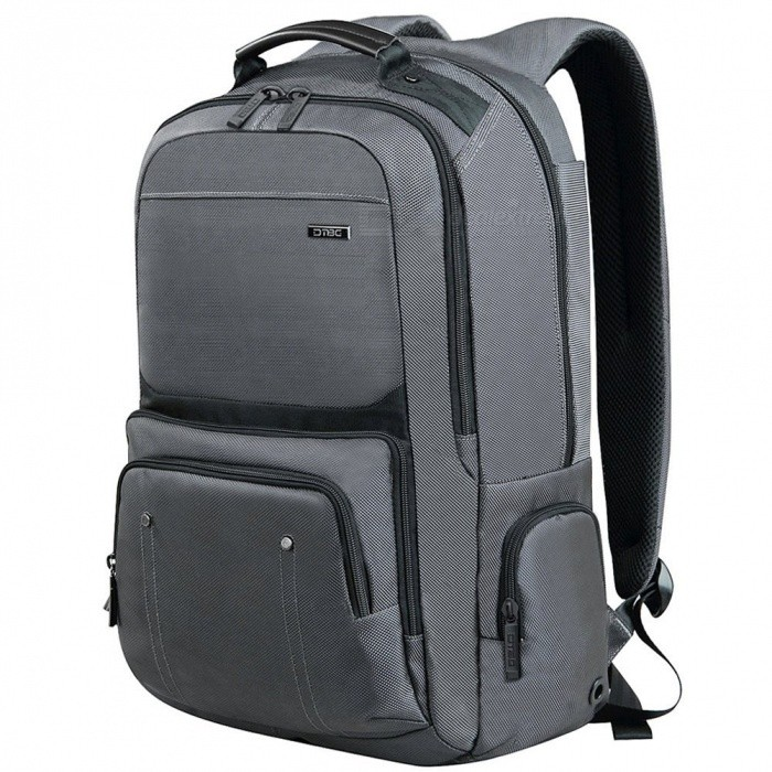 DTBG D8206W Nylon Waterproof 17.3 Inch Laptop Storage Backpack - GreyBags and Pouches<br>Form  ColorGreyModelD8206WQuantity1 DX.PCM.Model.AttributeModel.UnitShade Of ColorGrayMaterial1680D NylonCompatible Size17.3 inchTypeBackpacks,Tote BagsPacking List1 x Backpack<br>