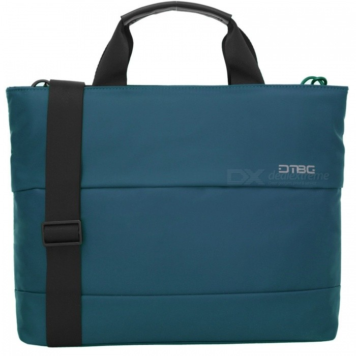 DTBG D8197W 15.6 Water Resistant Nylon Laptop Shoulder Bag - BlueBags and Pouches<br>Form  ColorBlue (15.6 Inch)ModelD8197WQuantity1 DX.PCM.Model.AttributeModel.UnitShade Of ColorBlueMaterialNylonCompatible Size15.6 inchTypeMessengers,Tote BagsPacking List1 x Hand Bag<br>