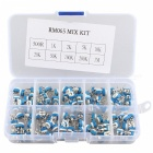 Hengjiaan 100Pcs 10 Kinds Of Value RM065 6mm Variable Resistors Kit