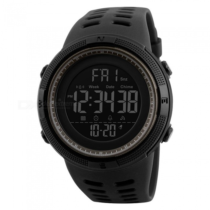 SKMEI 1251 50m Waterproof Men's Digital Sports Watch - Black, Brown for sale for the best price on Gipsybee.com.