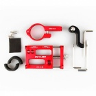 GUB G-88 Shockproof Aluminium Alloy Phone Bracket for Bicycle - Red