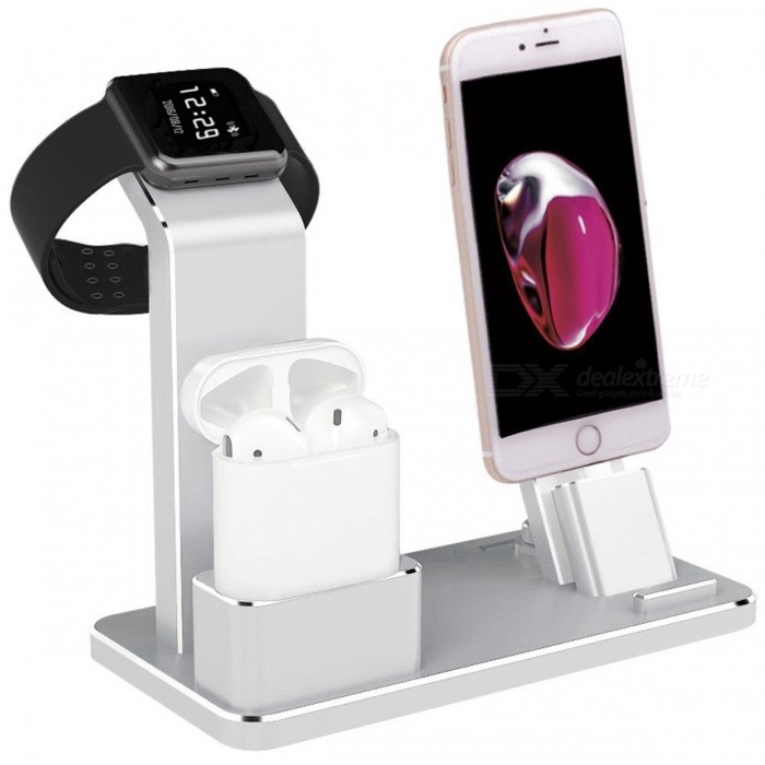 Docking Stations - Metal 4-in-1 Apple Watch AirPods IPHONE