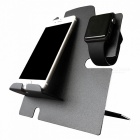 BLCR Apple Watch Stand With Phone Dock - Svart