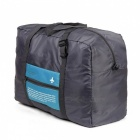 Travel Storage Bag Folding Bagage Kläder Pack Tidy Organizer-blå