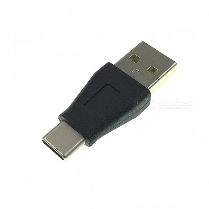 Cwxuan USB 3.1 Type-C Male to USB 2.0 Male Adapter - Black