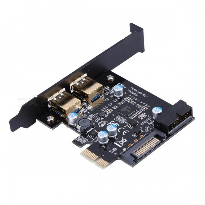USB-30-PCI-E-2-Port-PCI-Express-Expansion-Card-19-Pin-Power-Connector