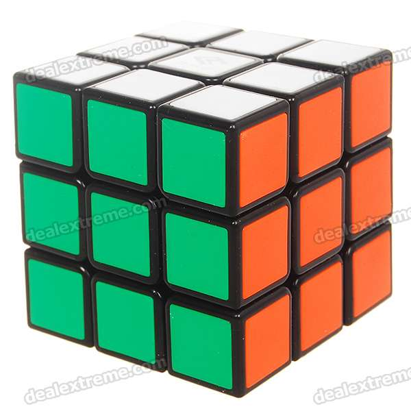 High Quality Speedy 3*3*3 Brain Teaser Magic IQ Cube - Multicolor