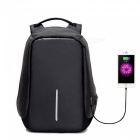 Multi-functional-Travel-Student-Backpack-with-USB-Charging-Port-Black
