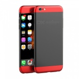 10% OFF. Naxtop 3 in 1 Hard Full Protective Case for IPHONE 6S Plus - Black,Red