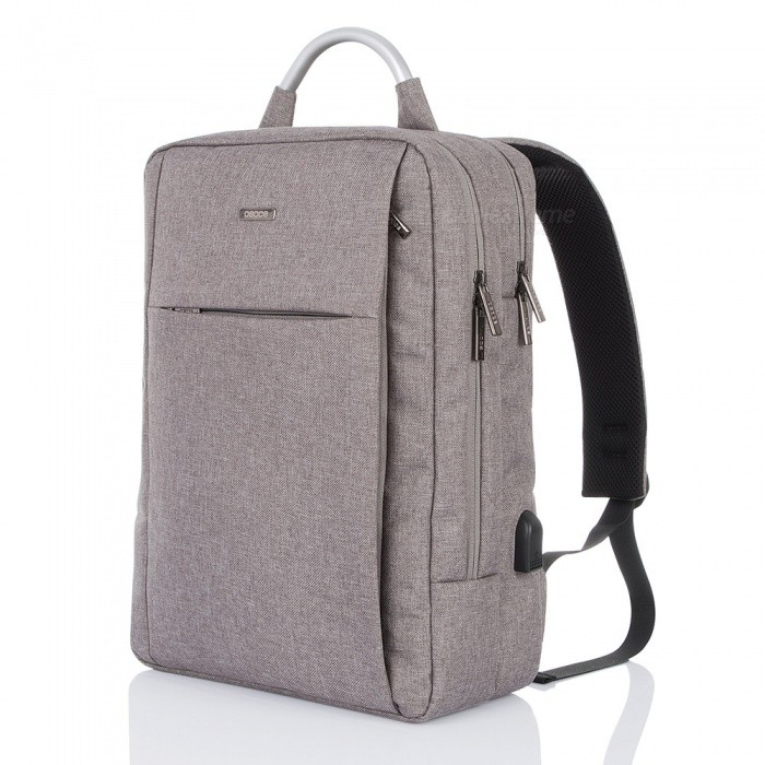 OSOCE S10 Business Travel Backpack with Extra USB Port - GreyForm  ColorGreyBrandOthers,Others,OSOCEModelS10Quantity1 DX.PCM.Model.AttributeModel.UnitMaterialNylonTypeHiking &amp; CampingGear Capacity20 DX.PCM.Model.AttributeModel.UnitCapacity Range0L~20LFrame TypeExternalRaincover includedNoBest UseSwimming,Running,Climbing,Family &amp; car camping,Mountaineering,Travel,CyclingOther FeaturesInterior Compartment,Computer Interlayer, Cell Phone Pocket, Interior Zipper Pocket, Interior Slot PocketPacking List1 x Backpack<br>