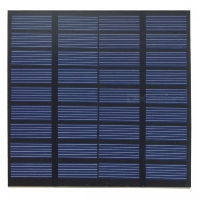 Universal 9V 1.5W 160mAh Output Polycrystalline Silicon Solar Panel