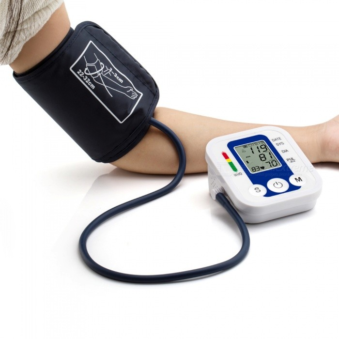 "B02R 2.2"" LCD Upper Arm Blood Pressure Monitor with ComFit Cuff - Blue"