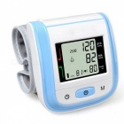 Home-Health-Care-Automatic-Wrist-Blood-Pressure-Monitor-Blue