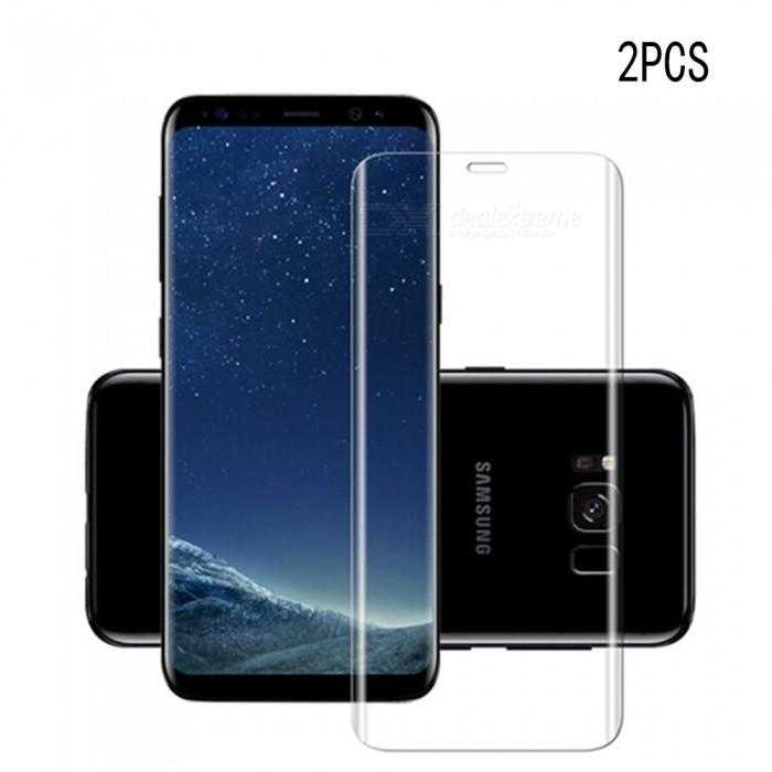 Naxtop Tempered Glass Screen Film for Samsung Galaxy Note 8 - 2PCSScreen Protectors<br>Form  ColorTransparent (2PCS)Screen TypeGlossyModelN/AMaterialTempered GlassQuantity1 DX.PCM.Model.AttributeModel.UnitCompatible ModelsSamsung Galaxy Note8Features3D,Fingerprint-proof,Scratch-proof,Tempered glassPacking List2 x Tempered glass films2 x Wet wipes2 x Dry wipes2 x Dust absorbers<br>