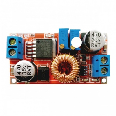 LED Drive Lithium Battery 5A Step-Down Power Supply Module