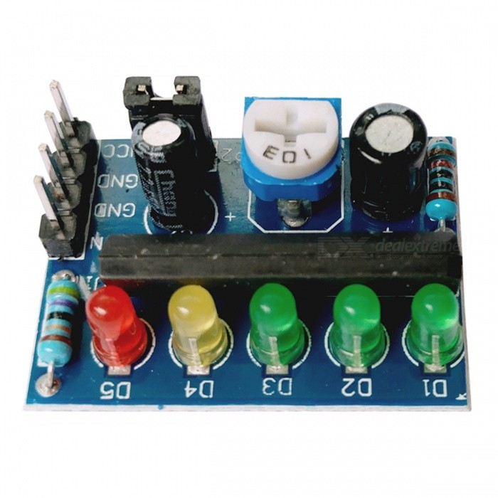 KA2284 3.5V-12V Power Indicator Audio Level Indicator ModuleLCD, LED Display Module<br>Form  ColorBlue + Black + Multi-ColoredModelKA2284Quantity1 DX.PCM.Model.AttributeModel.UnitMaterialPCE-AScreen TypeOthers,NoWorking Voltage   3.5V-12V DX.PCM.Model.AttributeModel.UnitDownload Link   ONPacking List1 x Level indicator module<br>