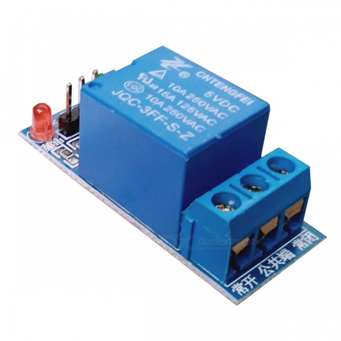 5V Low Level Trigger 1-vägs Relay Expansion Board Module