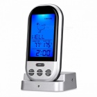 Wireless Food Cooking Thermometer, LCD Barbecue Timer