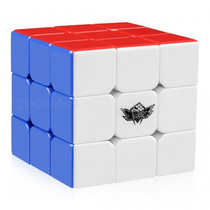 Cyclone Boys 3x3x3 57mm sin etiqueta Magic Cube rompecabezas de juguete