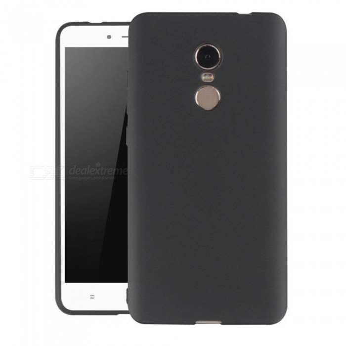 Naxtop TPU Ultra-thin Soft Case for Xiaomi Redmi Note 4 - BlackTPU Cases<br>Form  ColorBlackModelN/AMaterialTPUQuantity1 pieceShade Of ColorBlackCompatible ModelsXiaomi Redmi Note 4Packing List1 x Case<br>