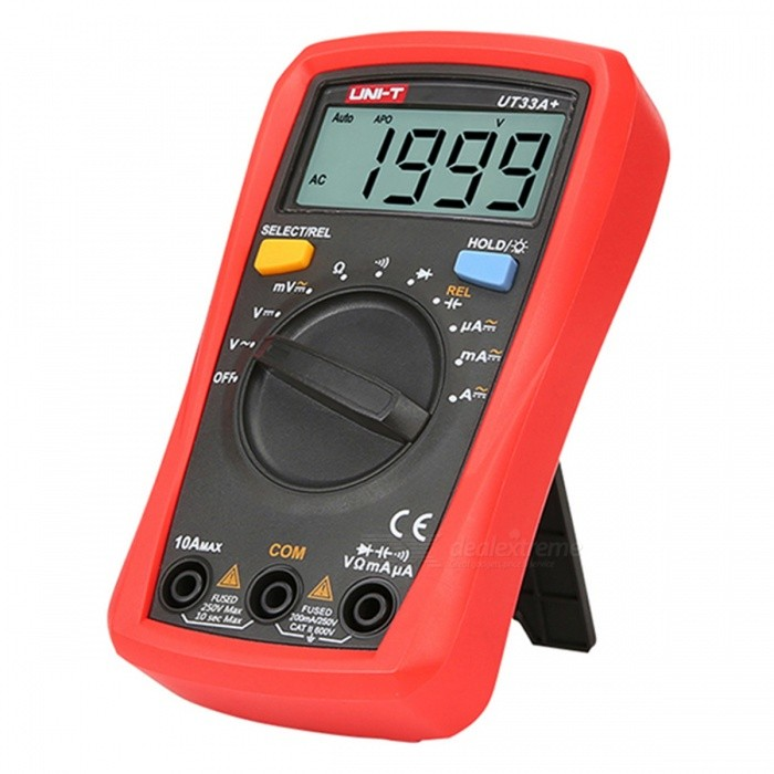 UNI-T UT33A+ Portable Digital Multimeter (2 x AAA Included)