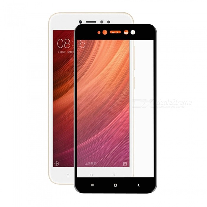 Hut-Prince 0.2mm 9H 3D Full Cover Protector für Redmi Note 5A-Schwarz