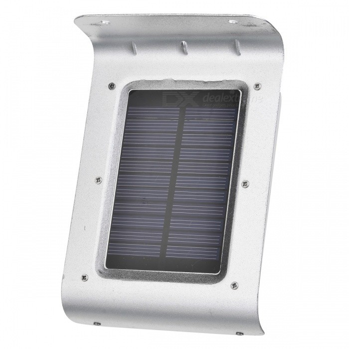 16-LED Outdoor Solar Lamp w/ Motion, Sound, Light Sensors