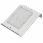 Lighting Control Sensor 16-LED Lamp Pure Spot Light Control Solar Powered for Outdoor Garden