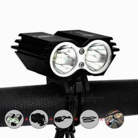 SolarStorm-X2-1200lm-4-Mode-XM-L-U2-White-Bike-Light-Black