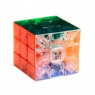 YJ 3x3x3 Speed Cube Stickerless Magic Cube Puzzle Toy - Transparent